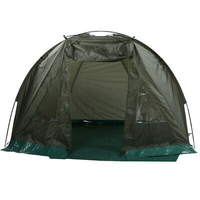 Outdoor Portable Fishing Tent Shelter Windproof Waterproof with Window 1-2 Man