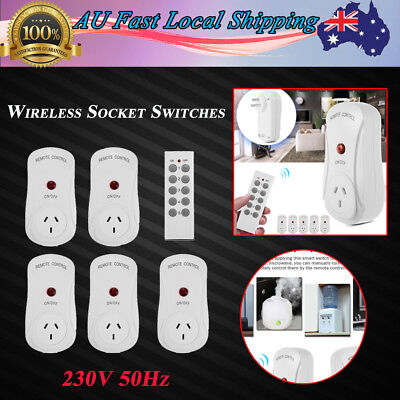 DC 12V Smart Socket Switch Outlet Remote Control Home Power Outlet Point AU Plug
