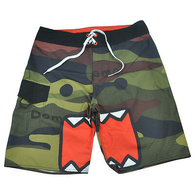 Domo Kun Camouflage Camo Swimming Trunks Board Shorts Bathing Suits Mens ](Domo Suit)