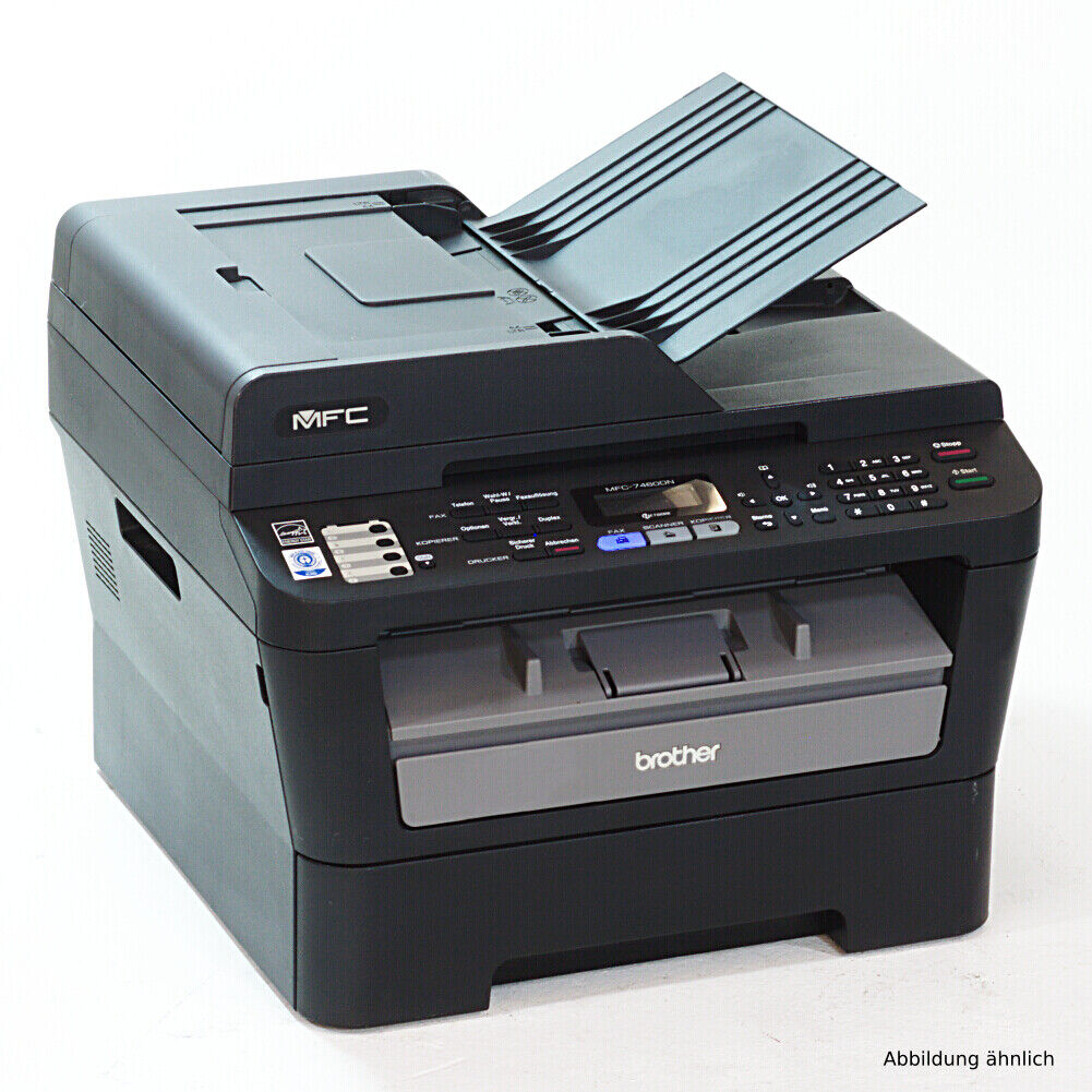 Brother mfc-7460dn laserdrucker imprimante scanner copieur fax sous 40.000 pages