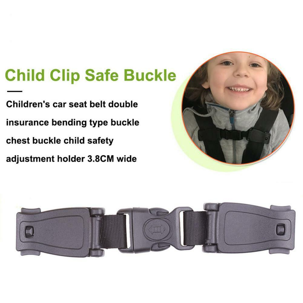 Baby Car Safety Seat Strap Belt Lock Buckle Latch Harness Chest Child Clip Knots