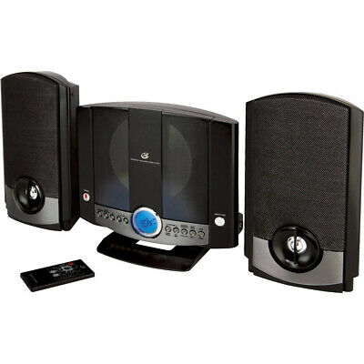 GPX Vertical Home Music System w/ AM/FM CD 2-Channel Stereo