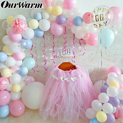 5M Balloon Chain Tape Arch Connect Strip Wedding Birthday Party DIY Ballon Clip - Balloon Arch Strip