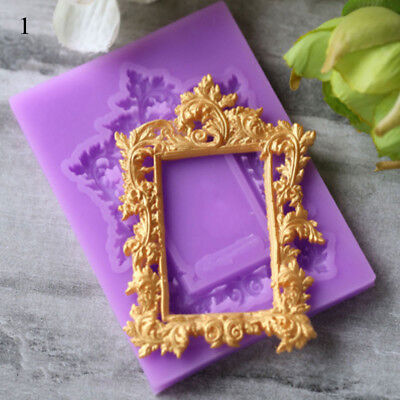 Cake Frame (Frame Silicone Mold Fondant Mould Chocolate Cake Molds For Cake Decorating)