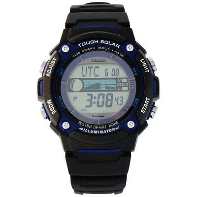 how to set time on casio tough solar w-s220