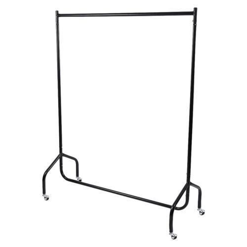 Indoor Outdoor Single Garment Rack Clothes Adjustable Portable Hanging Rack  UK W
