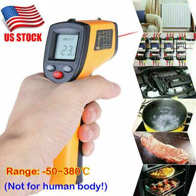 Digital Non-contact Lcd Ir Laser Infrared Temperature Thermometer Pyrometer Gun