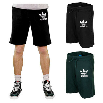 Adidas Men's Trefoil Logo Active Wear Gym Athletic Workout Fleece Shorts Activewear