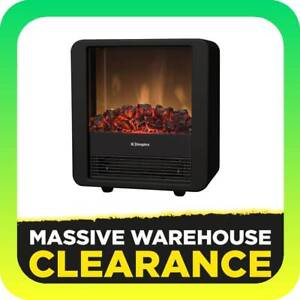 Dimplex Mini Cube Black 1.5kW Portable Electric Optiflame Fire Tullamarine Hume Area Preview