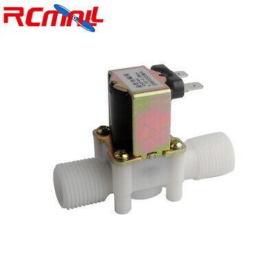 G12 Dc 12v Electric Solenoid Valve Magnetic Nc Water Air Inlet Flow Switch