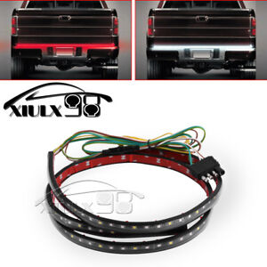 For Dodge RAM 1500 2500 Truck LED Tailgate Strip Brake Reverse Signal Light Bar