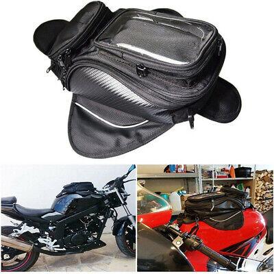 Magnetic Motorcycle Motorbike Oil Fuel Tank Bag Waterproof Saddlebag Phone -