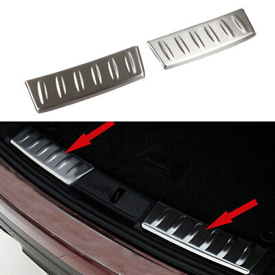 fit Jaguar F-pace 2017 2018 SUV Stainless Steel Rear Bumper Inside Sills Plate for sale  Shipping to Canada