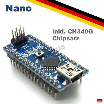 Nano ATmega328 V3.1 Board CH340 USB Chip Arduino Kompatibel