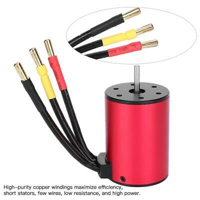 Car Parts - HH3650 750W 4 Poles Brushless Motor for 1/10 RC Car Boat Model Spare Parts