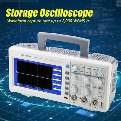 Uni-t Utd2052cl 7 Tft Lcd Digital Storage Oscilloscope 2ch 25mhz50mhz 500mss