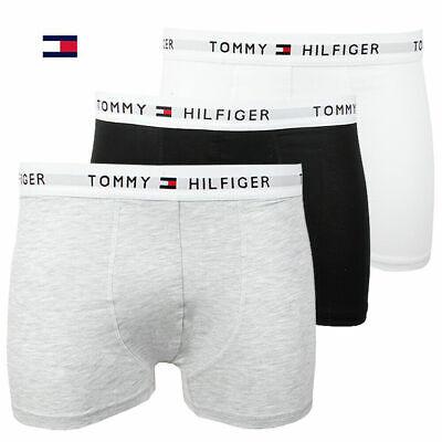 New in Box (3) Three Pack Men's Tommy Hilfiger Cotton Stretch Boxer Brief (Tommy Hilfiger Men)
