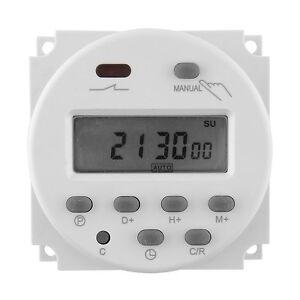 DC 12V 16A LCD-Digital-Display Power Programmierbar Timer Zeitschaltuhr