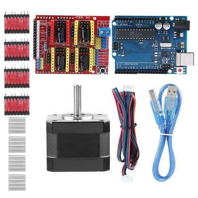 Cnc Shield Board 4pcs A4988 Stepper Motor Driver For Arduino V3 Engraver Kits