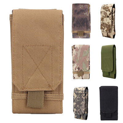 UNIVERSAL OUTDOOR ARMY TACTICAL MOBILE PHONE POUCH HOLSTER CASE BAG BELT FADDISH Case Pouch Holster