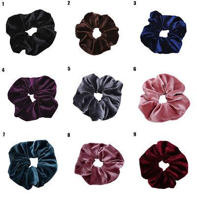 Sweet Velvet Elastic Hair Rope Scrunchie Ponytail Holder Rubber Band (Accessories)