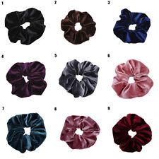 Sweet Velvet Elastic Hair Rope Scrunchie Ponytail Holder Rubber Band Accessories