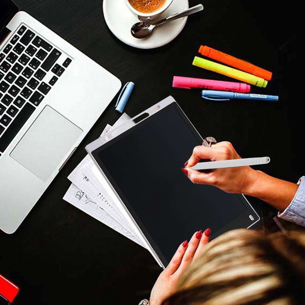 как выглядит Планшет для рукописного ввода графической информации 12in Electronic Digital LCD Writing Pad Tablet Pad Drawing Graphic Board Notepad фото