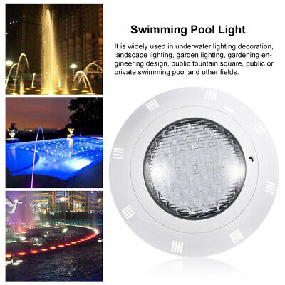 35W 360 LED Underwater Swimming Pool Fitting Bright Light Lamp Remote Control