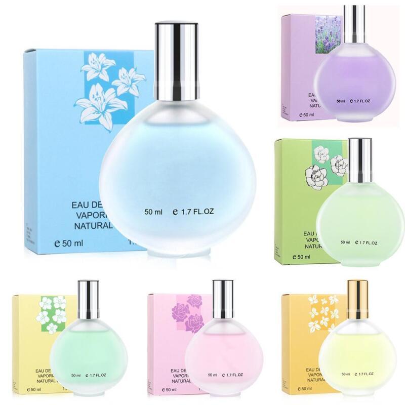 50ml women perfume natural flower fragrance spray