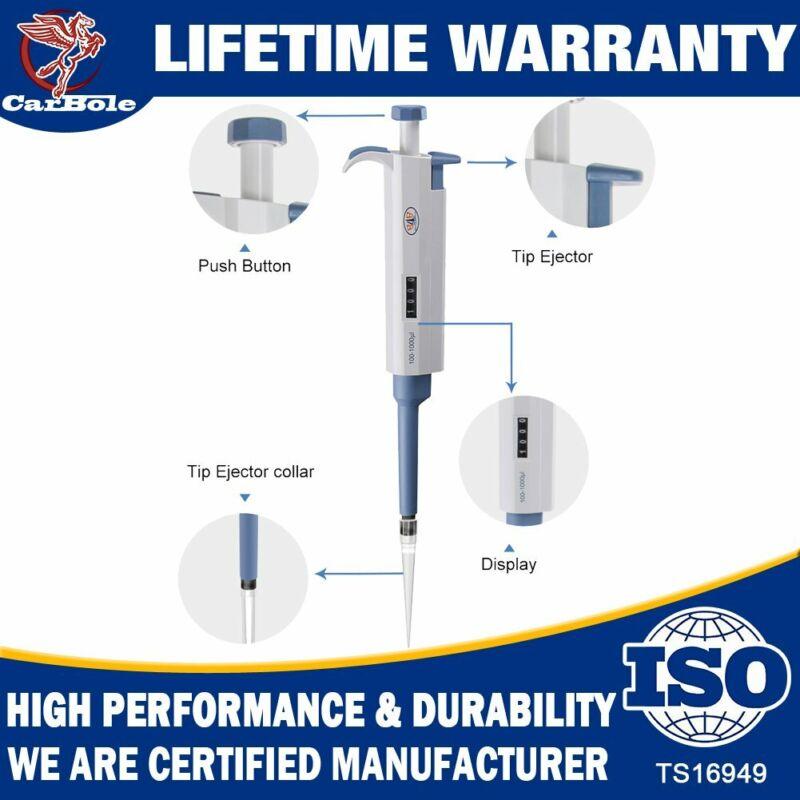 Single-Channel Adjustable Laboratory Micro Pipette/Pipettors Chemical 100-1000ul