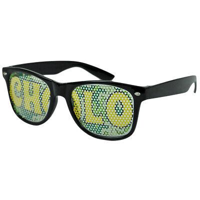 Sonnen Brille Mode Neuheit Strand Wayfarer Stil Lampenschirm Cholo Kostüm Spec