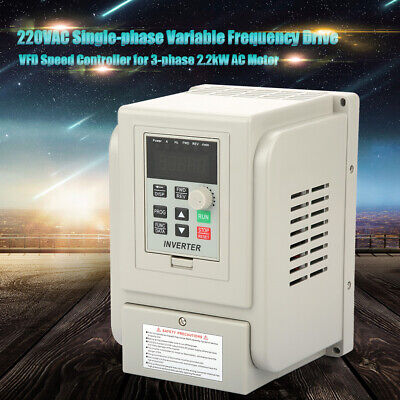 3-phase 2.2kw Ac Motor Variable Frequency Drive Vfd Speed Controller 220v