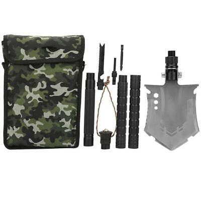 Military Shovel Tactical Folding Shovel Outdoor,Camping Spade Survival Emerge~GN