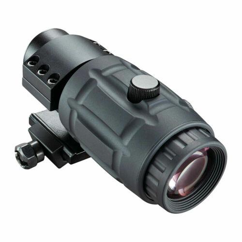 Bushnell Optics 3x Magnifier, Ambidextrous, Matte Black Ar731304