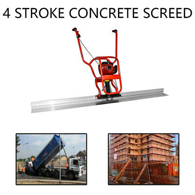 Gx35 37.7cc 4 Stroke Gas Concrete Wet Screed Power Screed Cement 6.56ft Board