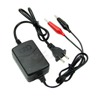 12V-1250mA-Volt-Sealed-Lead-Acid-Rechargeable-Battery-Charger-F-Car-Motor-Truck