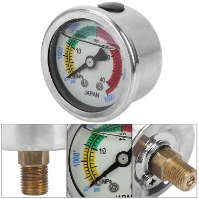 0-6000psi 0-40mpa Air Pump Pressure Gauge Diving Equippments Manometer Measure