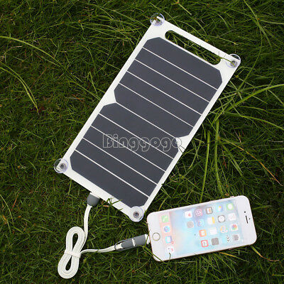 Portable Solar Power Panel (Portable 5V 10W Solar Power Charging Panel USB Charger For Samsung IPhone Tablet)