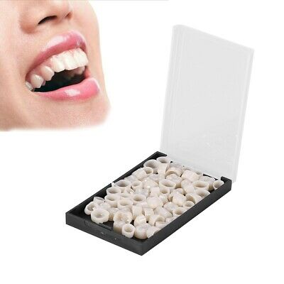 Dental Oral Temporary Teeth Crown Cap Tooth Synthetic Resin 50 Pcsbox