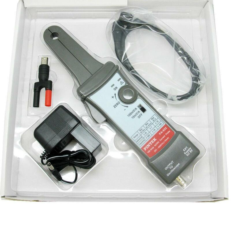Pintek Professional PA622 100 Amp 200 A P-P  70 A RMS AC/DC Current Probes