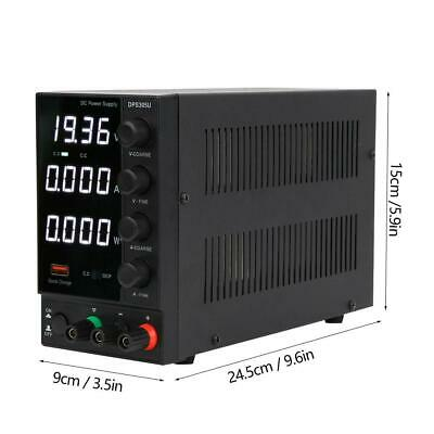 30v 5a Lcd Digital Dc Power Supply Variable Adjustable Lab Bench Test Equipment