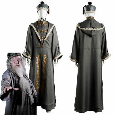 Harry Potter Principal Magician Albus Dumbledore Cosplay Kostüm - Harry Potter Dumbledore Kostüm