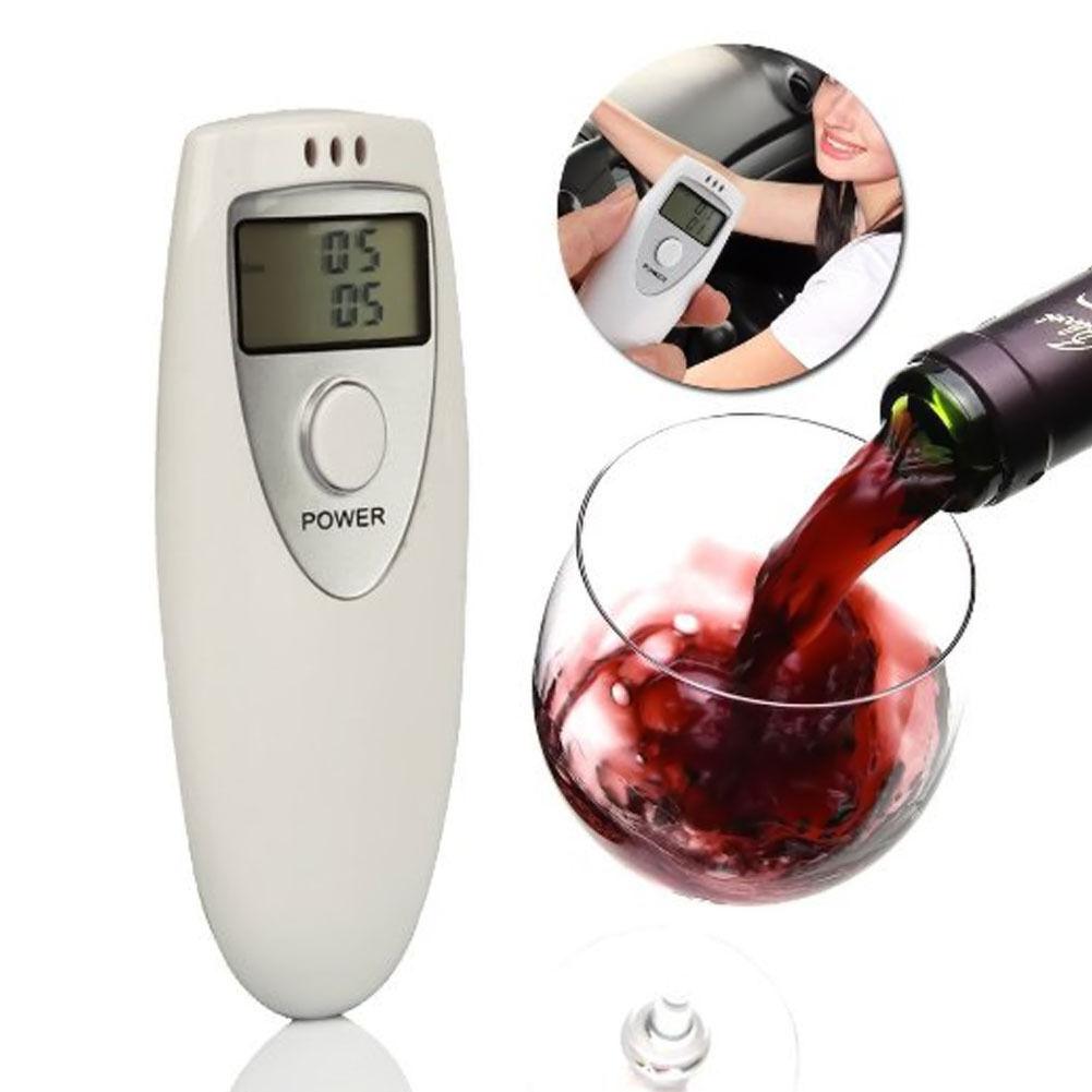 Police Portable Digital Car Breath Alcohol Analyzer Tester Breathalyzer Detector