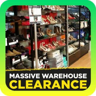 Massive Warehouse Clearance up to 80% OFF BIG NAME BRANDS Tullamarine Hume Area Preview