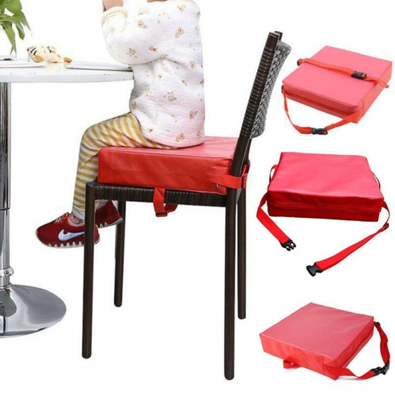 Detachable Adjustable Kids Dining Chair Booster Cushion Seat