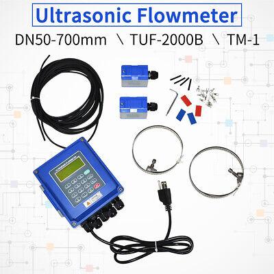 Ip67 Tuf-2000b Tm-1 Ultrasonic Flow Meter Dn50dn700mm Flowmeter