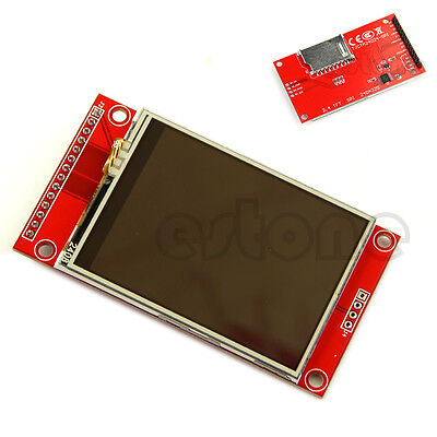 Lcd Touch Panel 240x320 2.4 Spi Tft Serial Port Module With Pbc Ili9341 5v3.3v