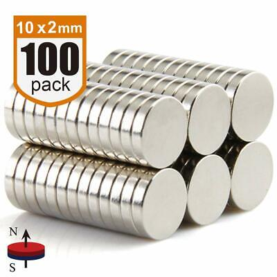 Magnets Heavy Duty 100-pack Strong Magnets Round Neodymium Magnets Rare Earth