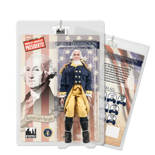 US Presidents 8 Inch Figures: George Washington [Blue & Yellow Suit Variant]