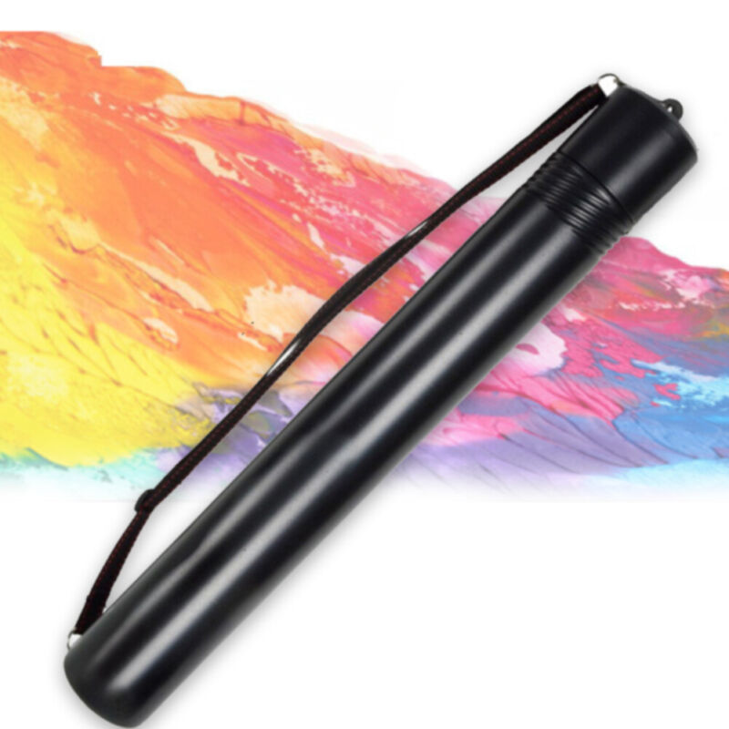 Art Planners Drawing Tube With Strap Adjustable Telescopic Artwork Storage
